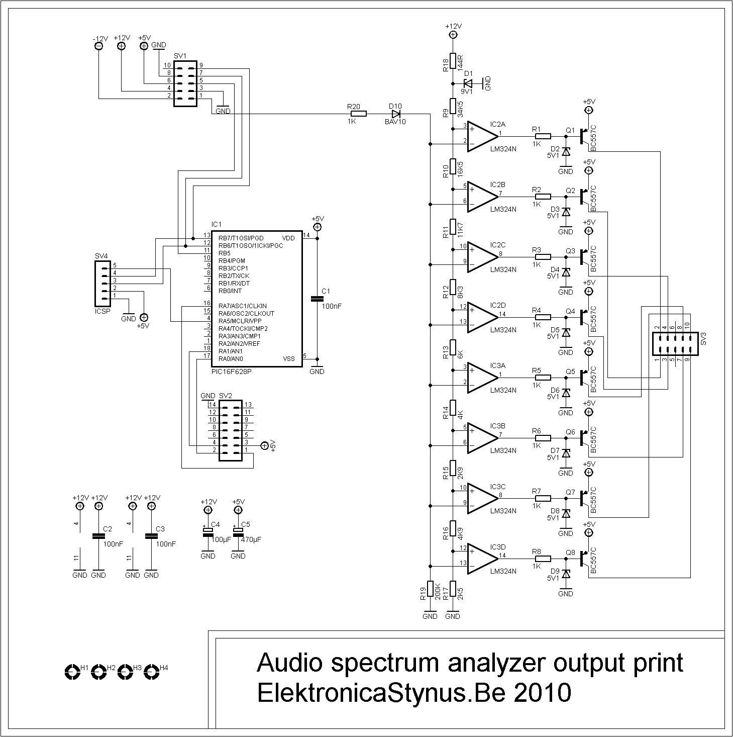 Audio Spectrum Analyzer – ElektronicaStynus