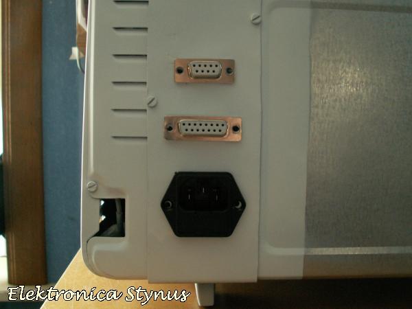 Oven achterkant