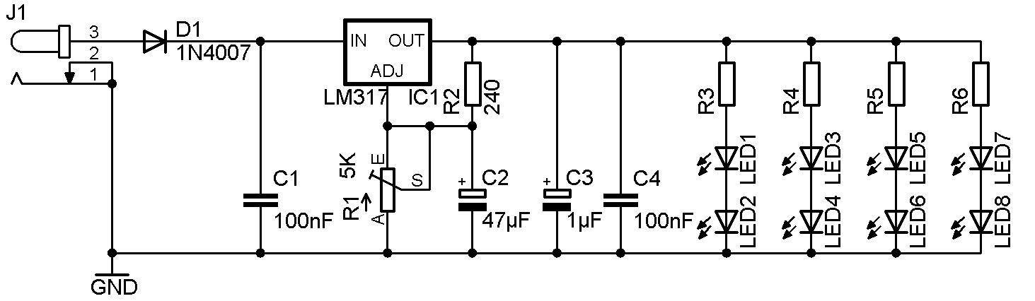 Digicam macro light schema