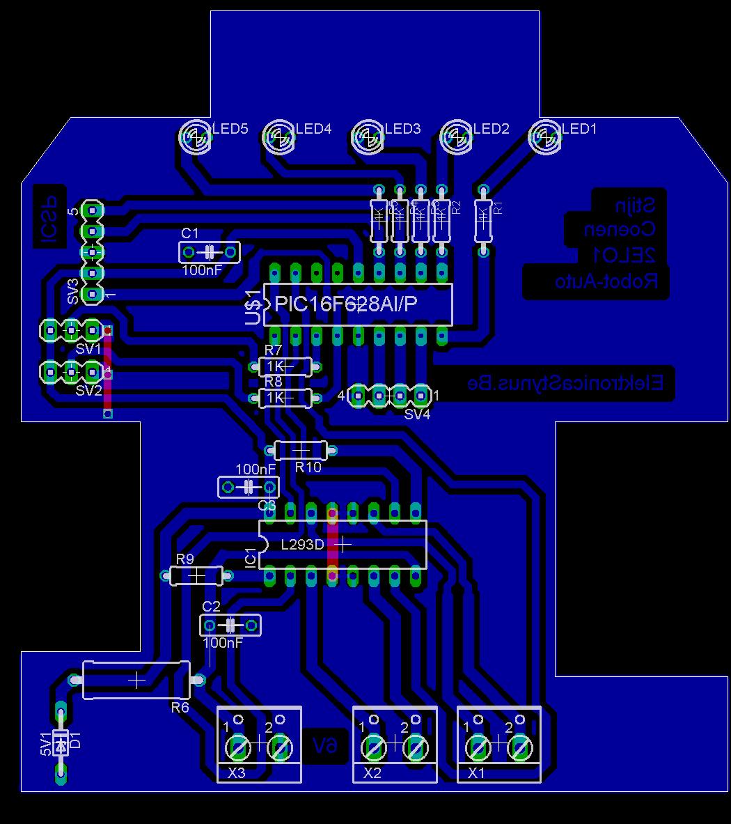 PCB robotauto