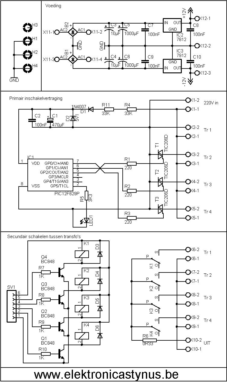 Schema schakelprint V2