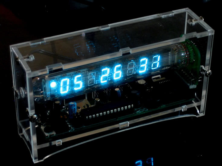 Ice Tube Clock