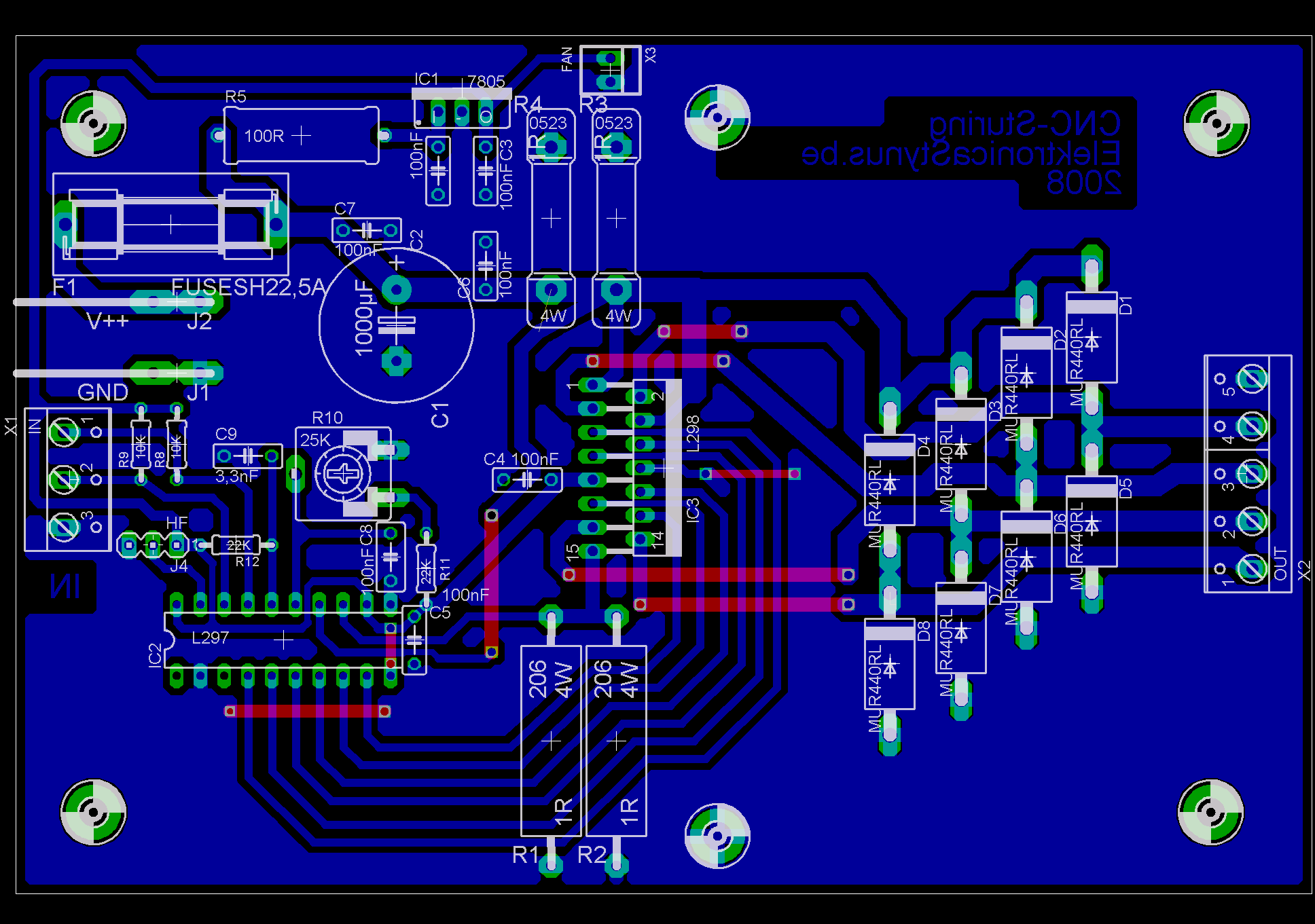 Cnc drill mill machine v2 page 2 elektronicastynus for Cnc stepper motor controller circuit