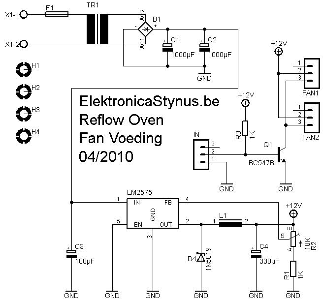 Fan Voeding