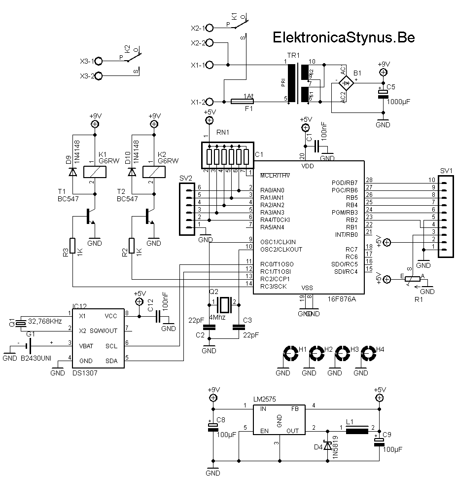 pc klok  u2013 elektronicastynus