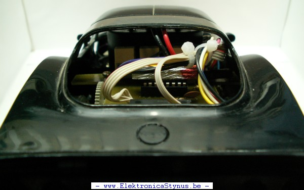 Robot Auto Achter Aanzicht