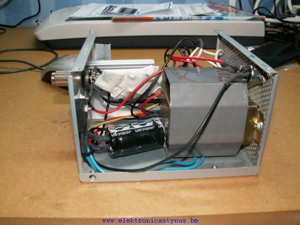 Printboormachine PWM regeling