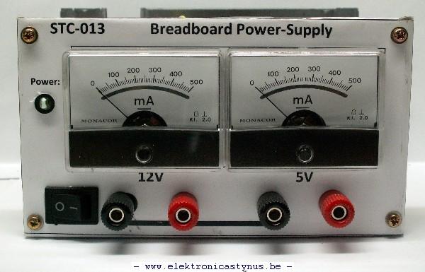 Breadboard Power Supply Elektronicastynus