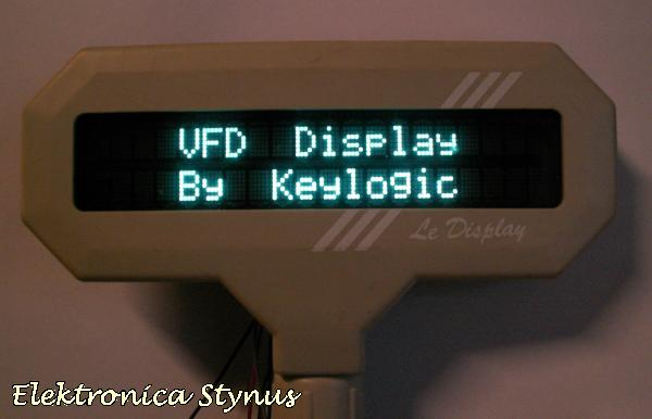 VFD Display By Keylogic